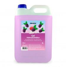 Gel Hidroalcoholico Higienizante Aroma Mora - Alcohol 70% (5 Litros)