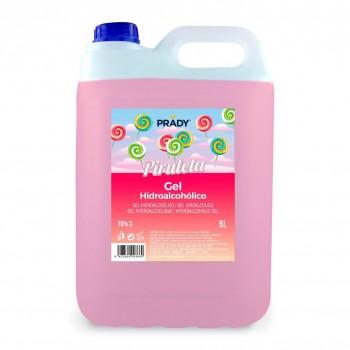 Garrafa Gel Hidroalcoholico Higienizante 5L - Piruleta - 70%