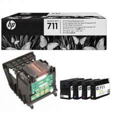 Cabezal HP 711 C1Q10A plotter hp designjet t120 y t520