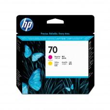 HP Nº 70 (M-Y) Cabezal C9406A Magenta / Amarillo