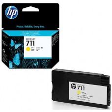 Tinta HP CZ132A DesignJet T120/T520 AMARILLO Nº711