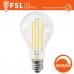 Bombilla LED e27 de Filamento Transparente