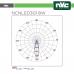 Foco LED cuadrado para techo - 8W 640lm 3000k
