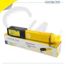 Toner Cartige Web para OKI C3300/3400/3450/3600 AMARILLO