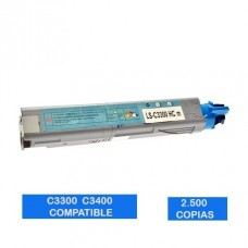 Tóner OKI C3300 C3400 C3500 C3600 43459337 Magenta Compatible