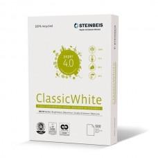 Steinbeis Papel A4 Reciclado 80gr. 210x297mm  (2500 Folios / 5 Paquetes) Blancura ISO 70
